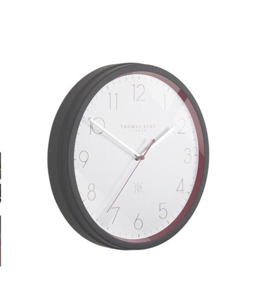 Thomas Kent 12 Clocksmith No 3 Garnet Wall Clock