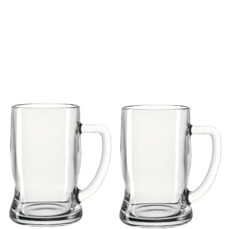 Leonardo  0.33L Glass Beer Mug  Set Of 2