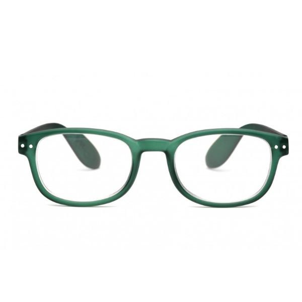 IZIPIZI Reading Glasses in Green Crystal (Frame Shape: #B)