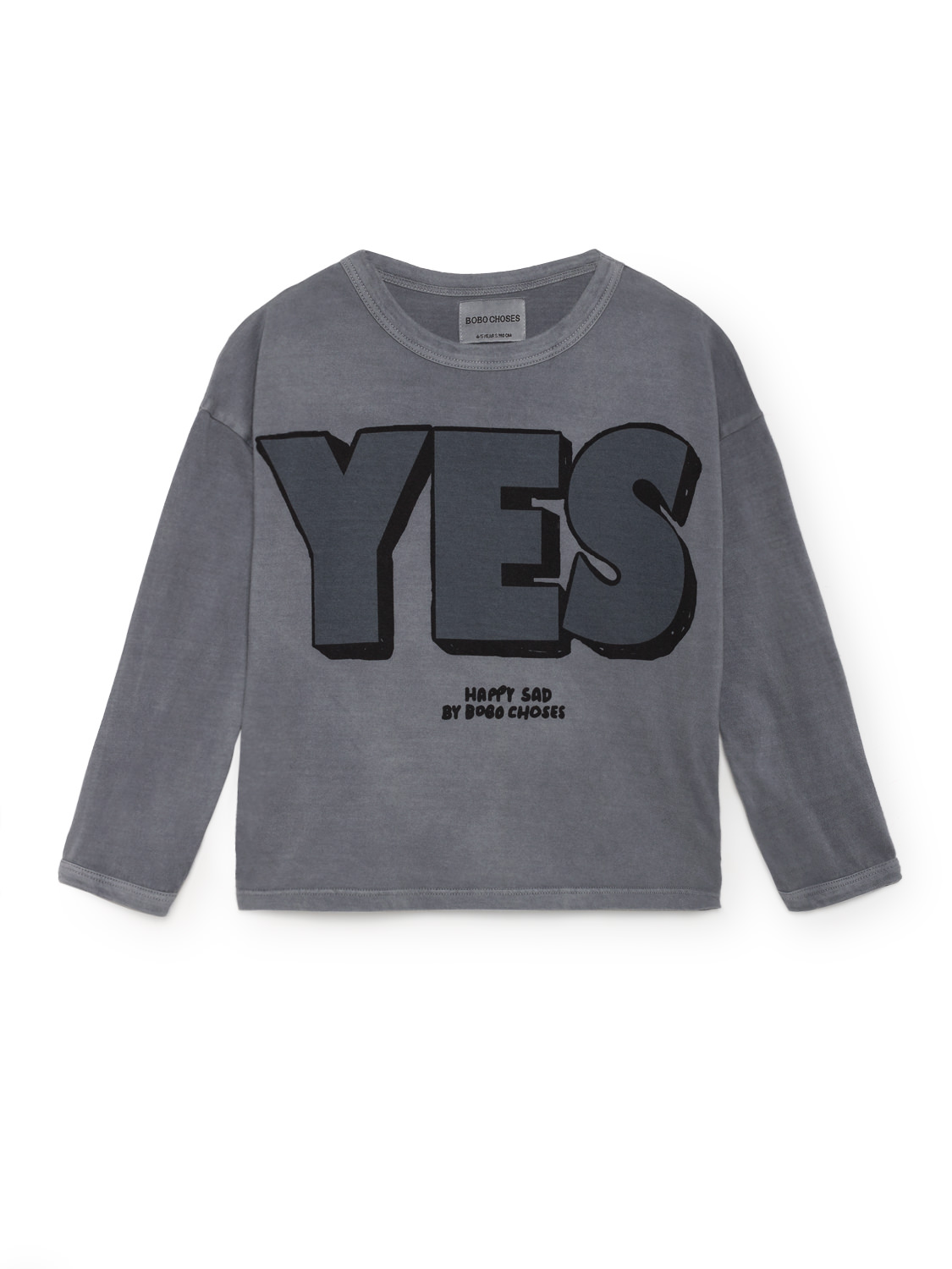 Bobo Choses Yes No Round Neck Kids T Shirt