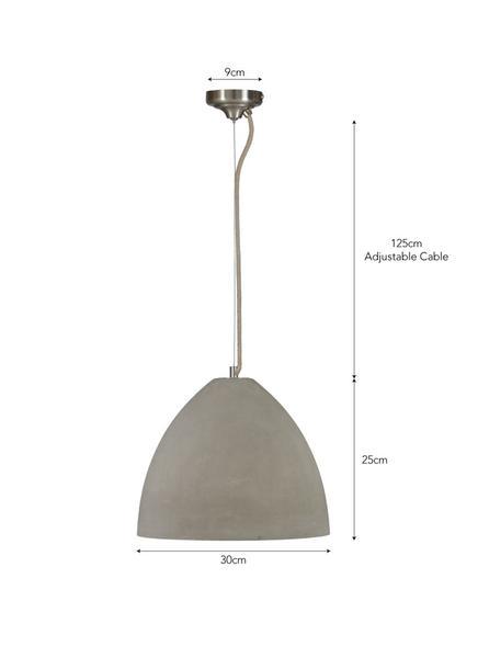 Hare & Wilde Large Concrete Daylesford Pendant Light