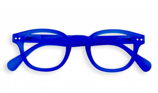 IZIPIZI Blue C Shape Reading Electric Crystal Reading Glasses