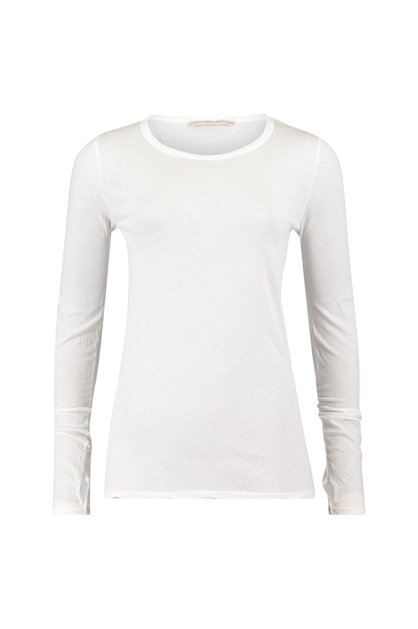 Humanoid White Janes Basic Cotton Tee