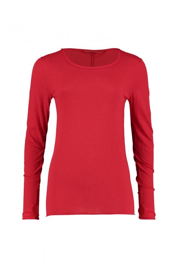 Humanoid Red Janes Basic Cotton Tee