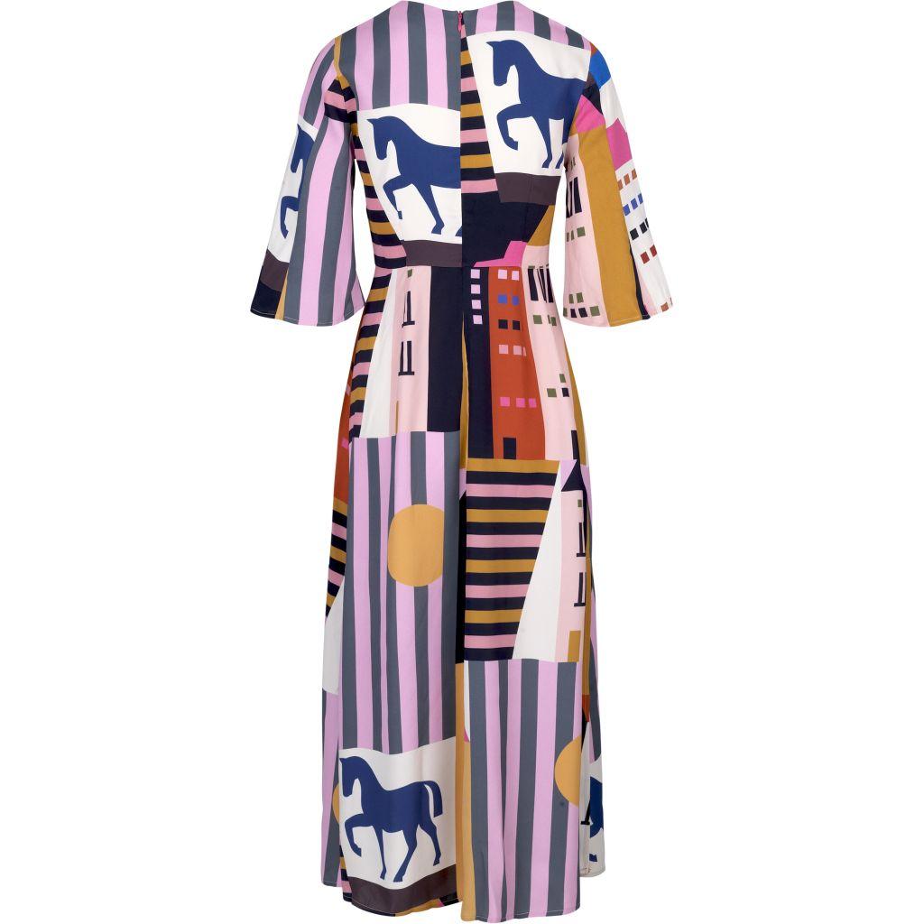 Stine Goya Kirsten City Print Dress