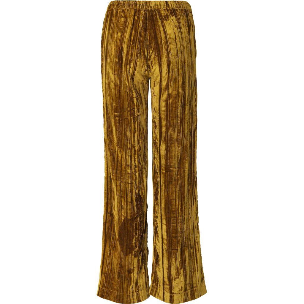 Stine Goya Golden Velvet Aileen Pants