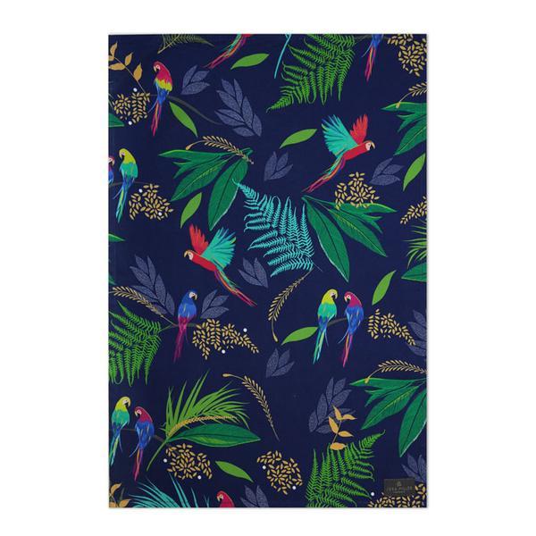 Sara Miller Parrot Tea Towel