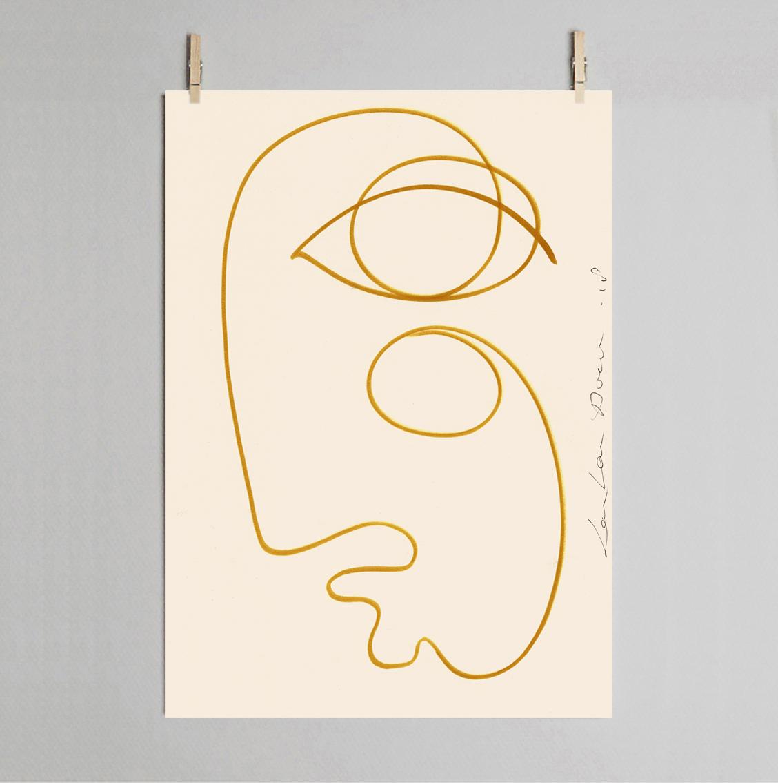 LouLou Avenue Sunkissed 30 x40cm Art Print