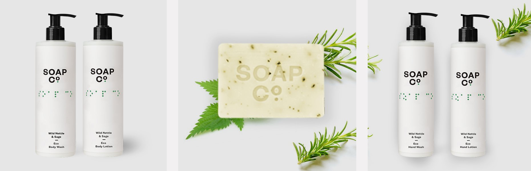 The Soap Co Wild Nettle & Sage Hand Wash