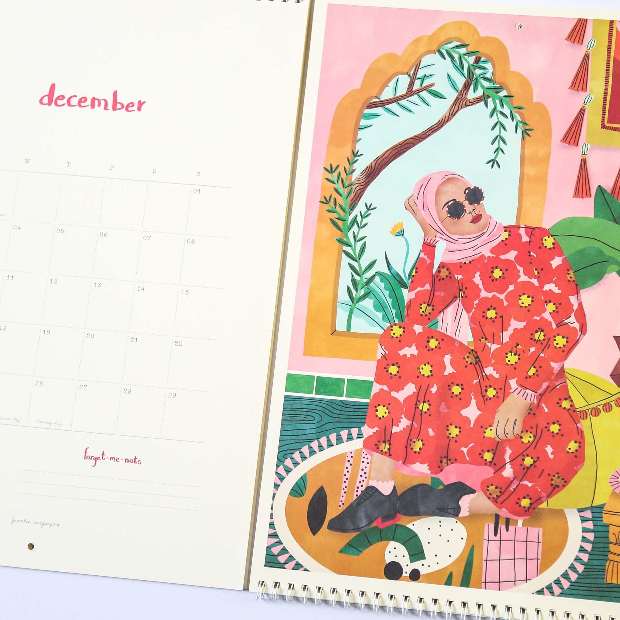Frankie Magazine 2019 Calendar