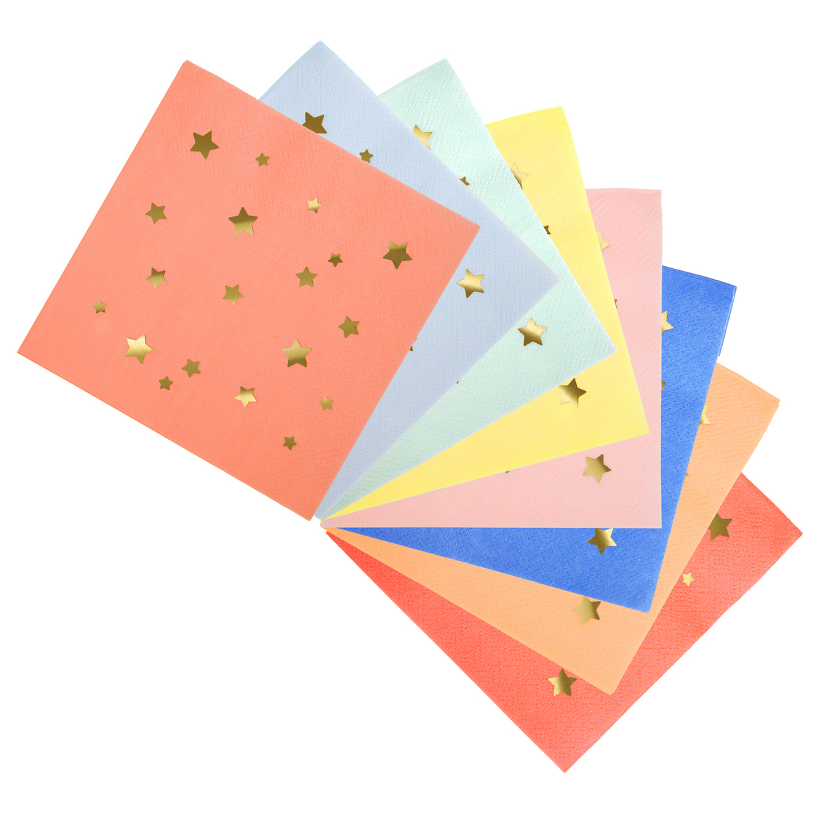 Trouva Star Patterned Paper Napkins