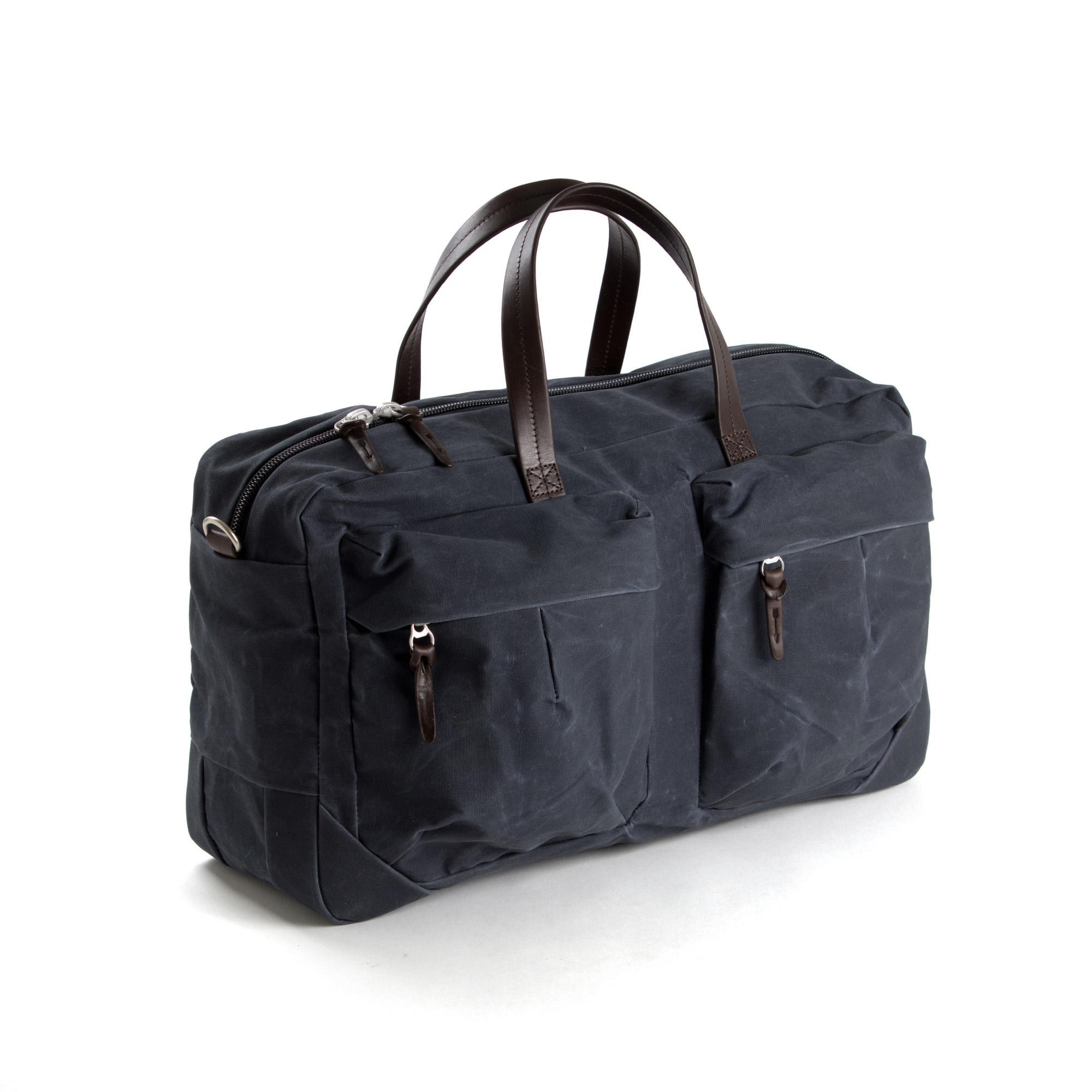 Property Of Tommy Trip Bag Indigo & Dark Brown