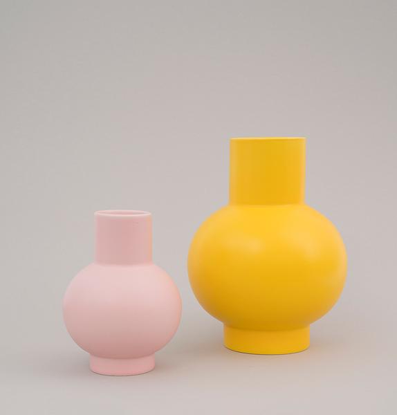 Trouva: Large Yellow Strom Vase  Trouva: Large Y...