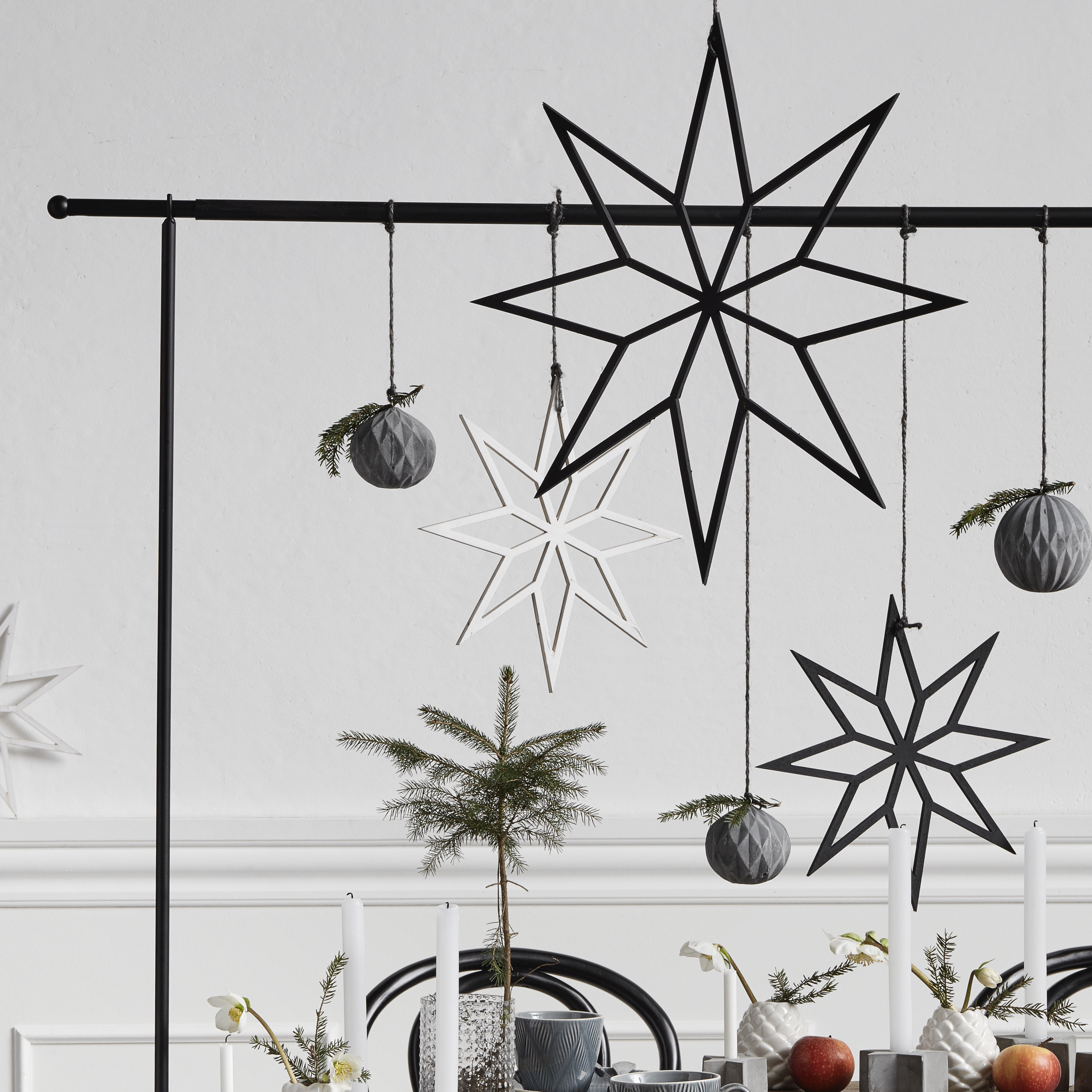 Large Hanging Star Decoration