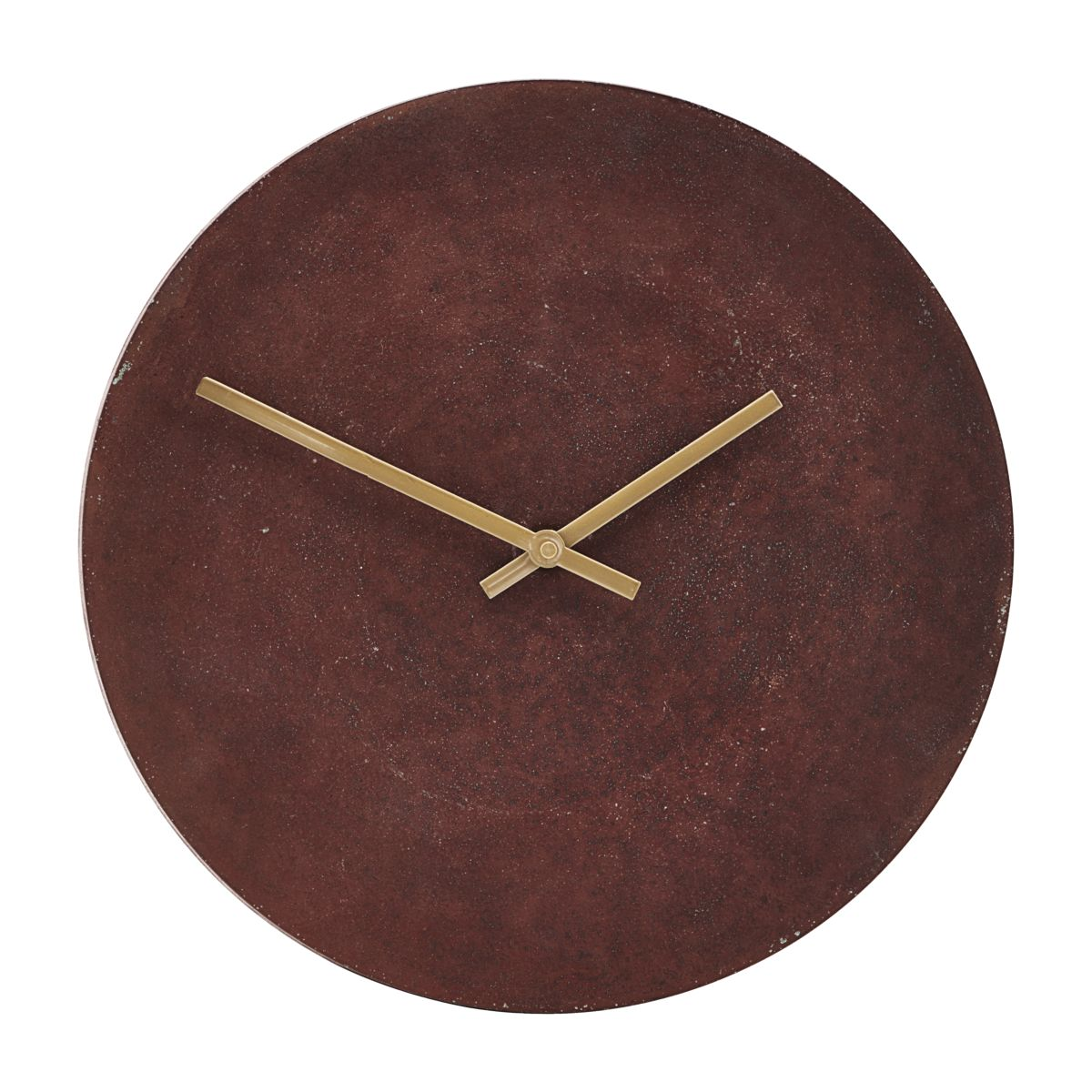 House Doctor Rust Red Wall Clock
