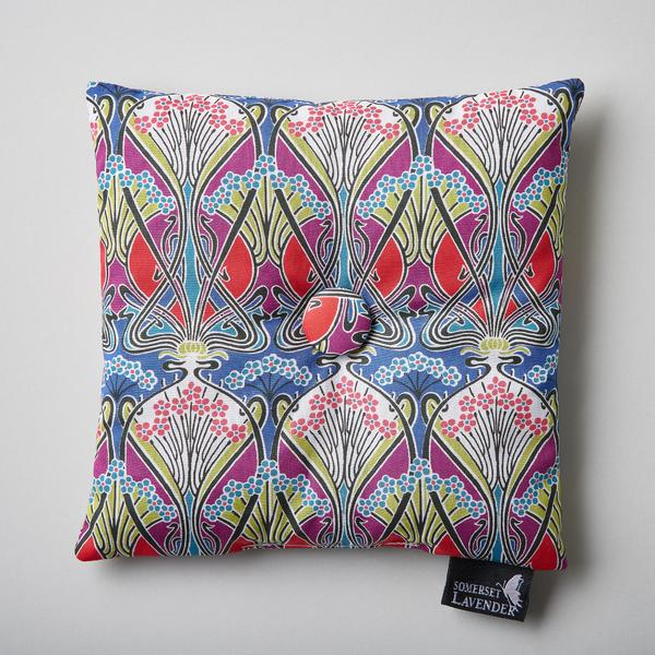 Somerset Lavender Lavender Filled Pillow In Liberty Fabric