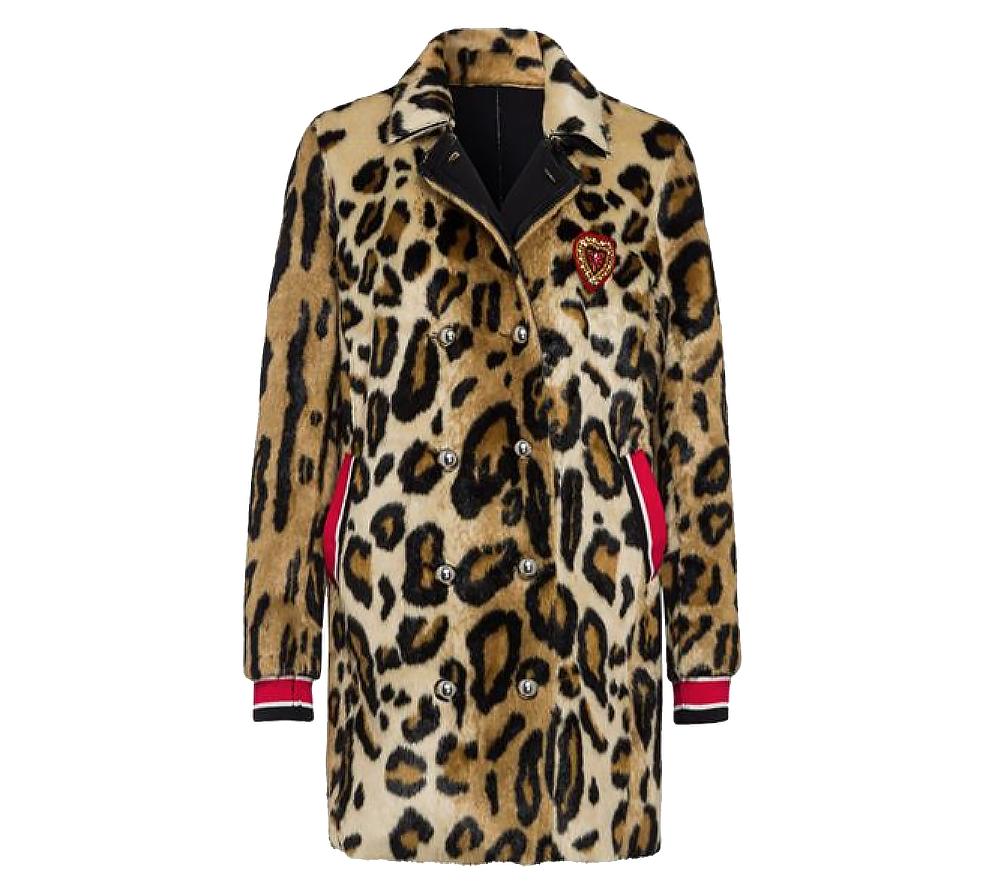 Coat Marc Striped Reversible Leopard Aurel Hem kOuTXZiP