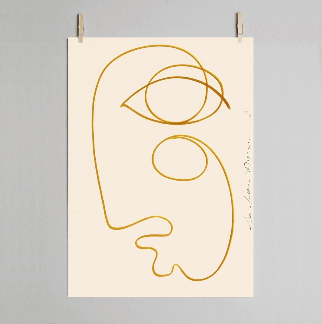 LouLou Avenue Sunkissed 50x70 cm art print
