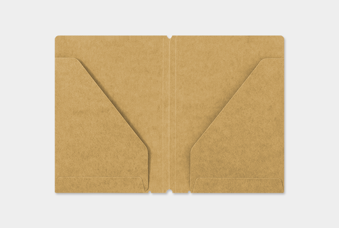 Traveler's Company Traveler's Notebook Refill 010 Kraft Paper Folder Passport Size