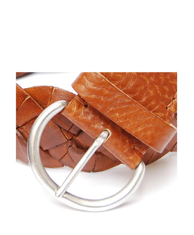 Zeha Berlin Braided Leather Belt