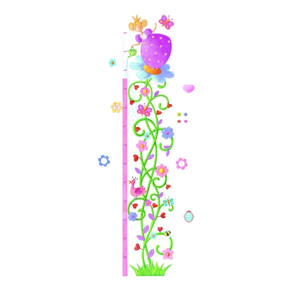 trouva: marguerite height chart wall stickers