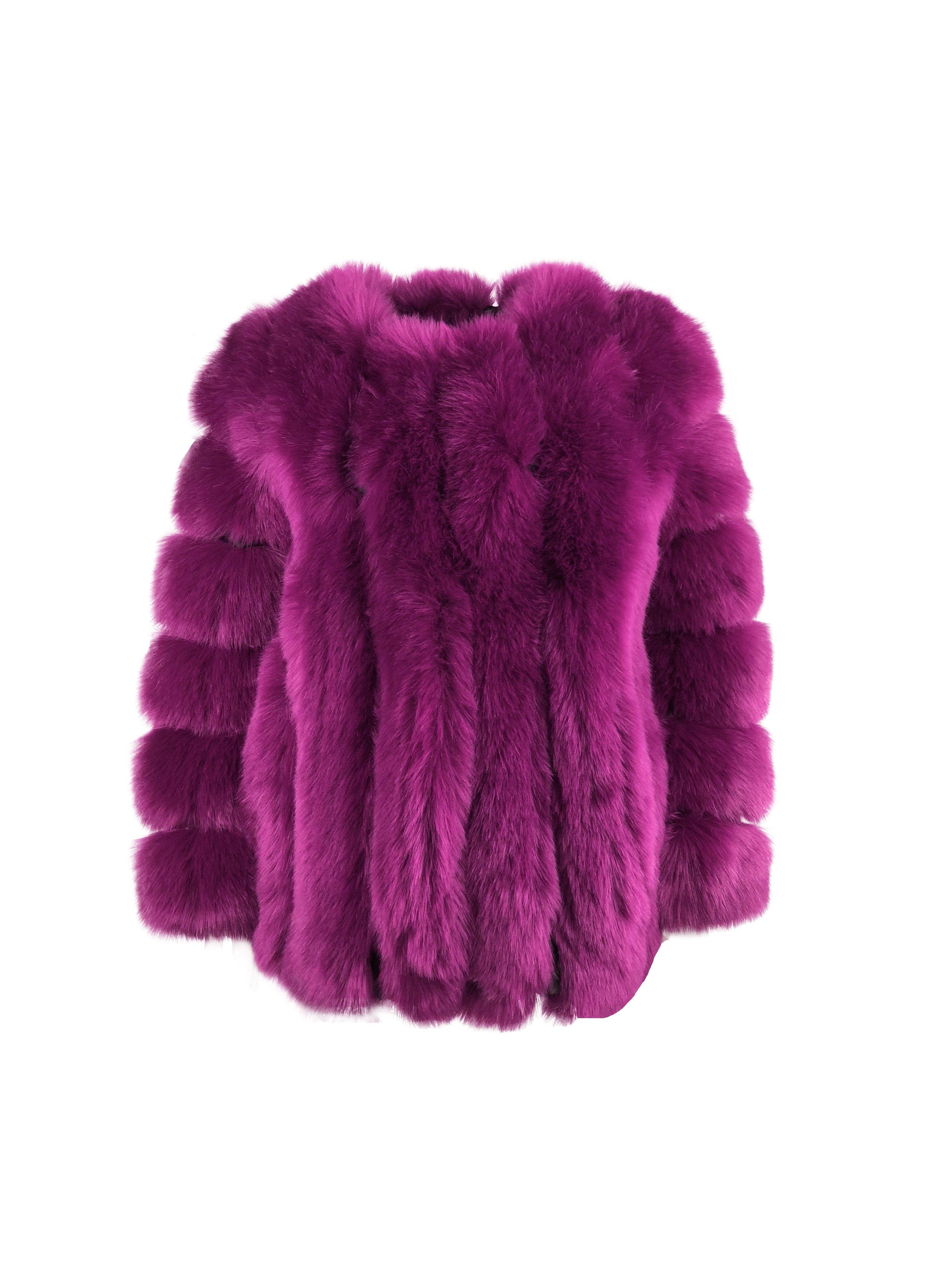 AMO Couture Magenta Renaissance Jacket