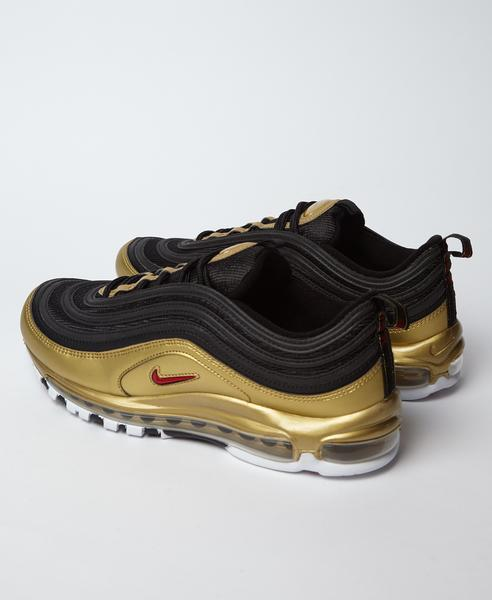 Nike Black Gold Air Max 97 B Sides Qs Trainers