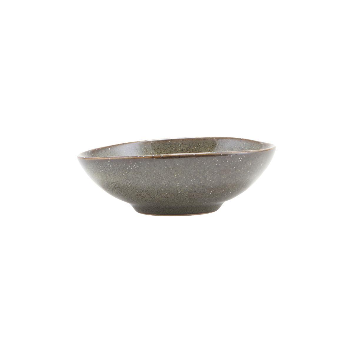 House Doctor Small Lake Green Stoneware Bowl