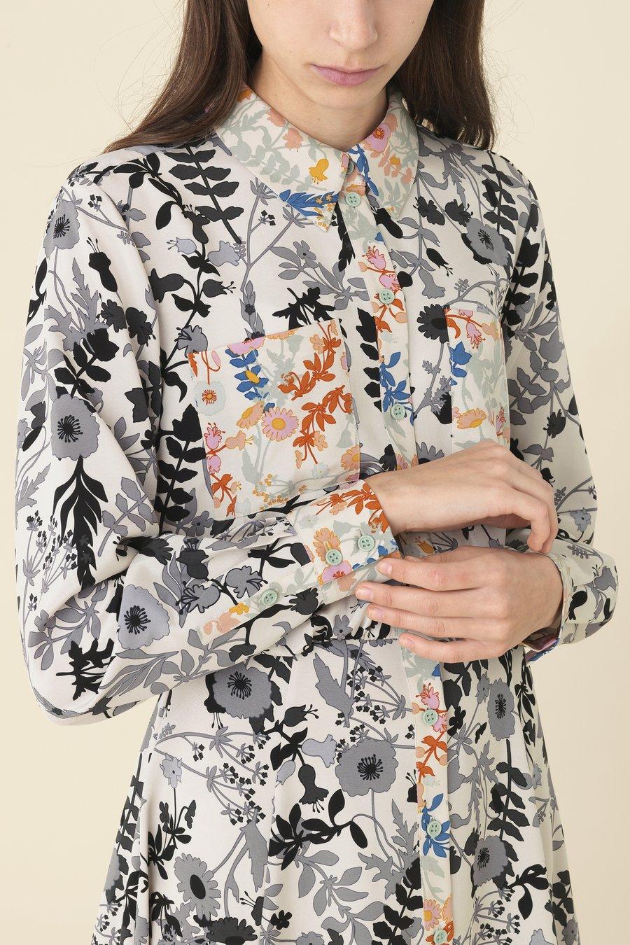 Stine Goya Light Flowers Renee Silk Dress