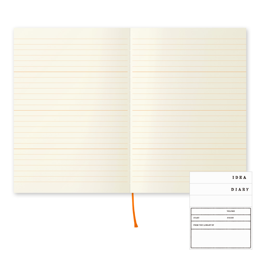 Midori 10th Anniversary Lined With Sections Notebook