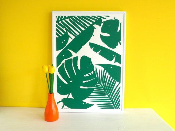 Hello DoDo Nibbles Screenprint