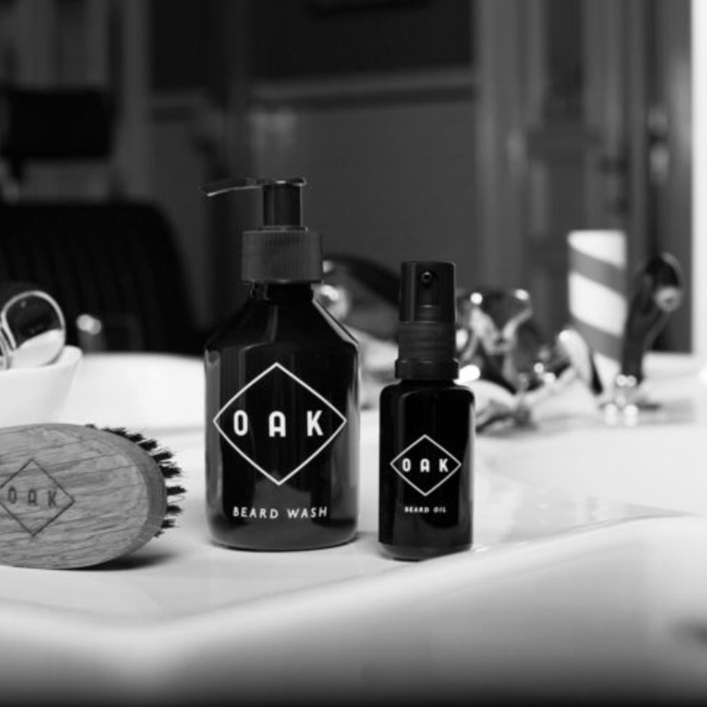 Oak Natural Beard Care - Beard Oil