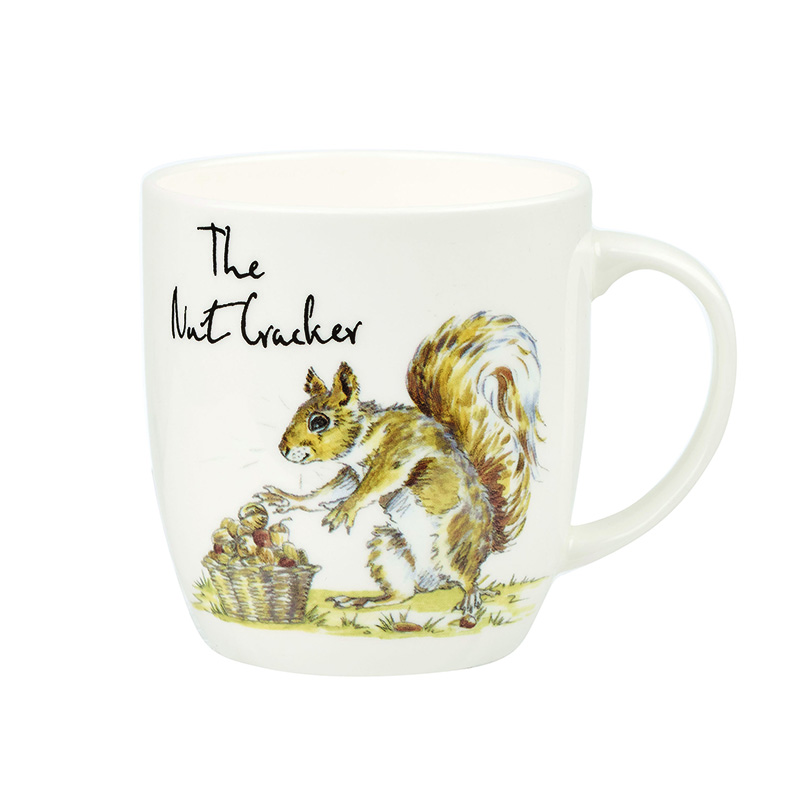 Country Pursuits Set Of 2 The Nutcracker / The Fruit Picker Mugs