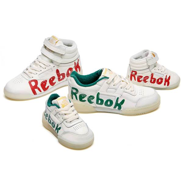083f7da6bc5 Trouva  Workout Plus Classic Sneakers In Green TAO Graphic X Reebok Sizes  EUR 25 EUR 39