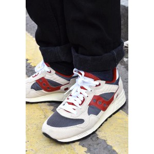 Red Mens Shadow 5000 Vintage Trainers