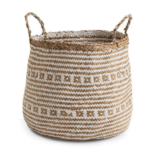 Chickidee Homeware Barrel Natural White Basket