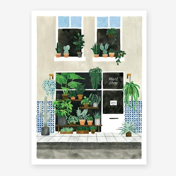 All The Ways To Say Plant Shop Art Print