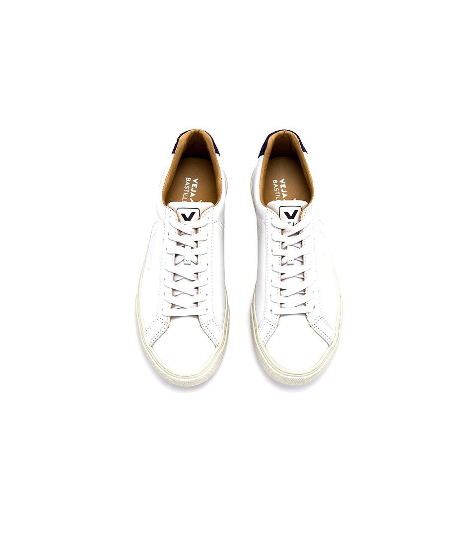 Veja White Esplar Bastille Electric Tilapia Sneakers