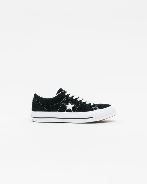 Converse Black White White One Star Ox Sneakers