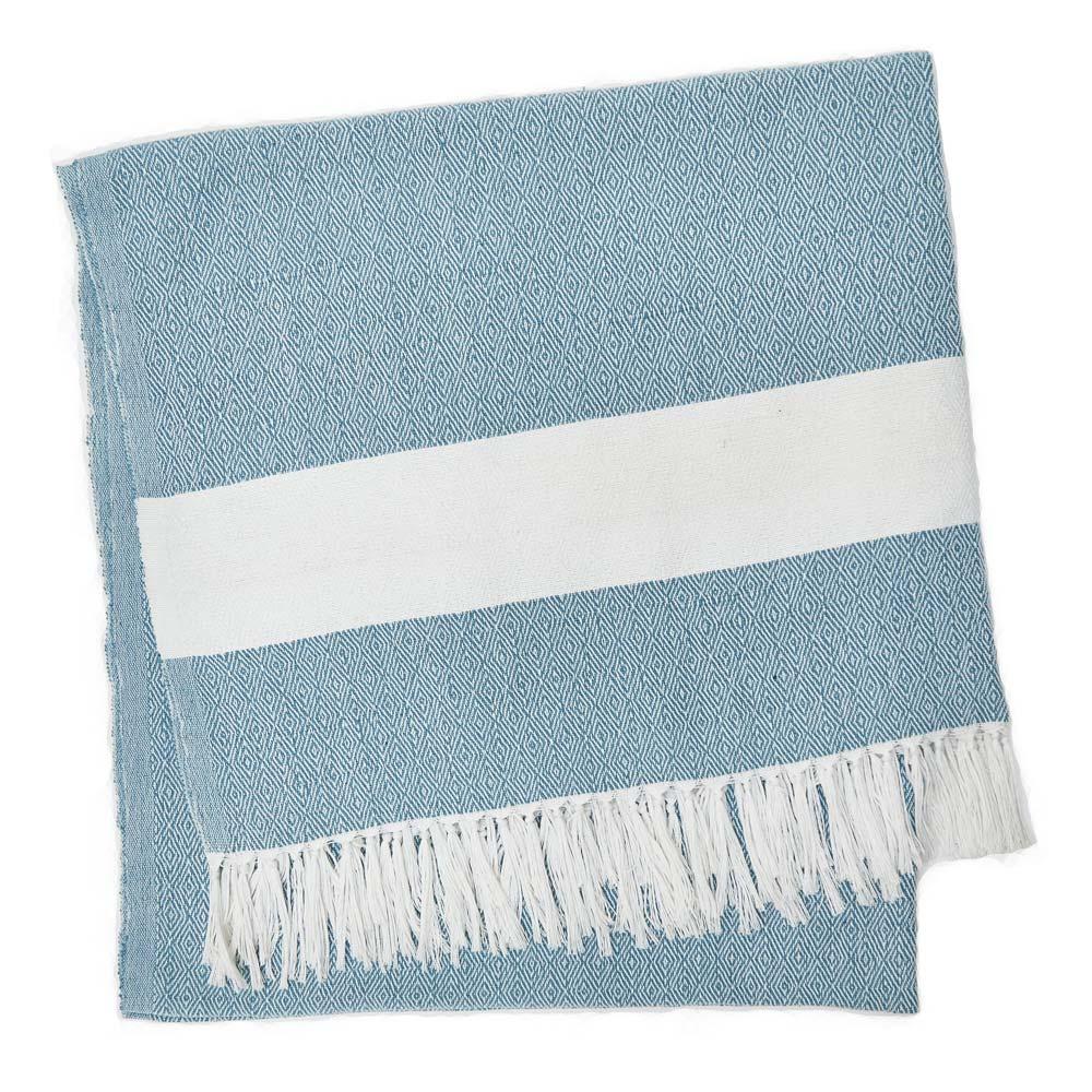 Weaver Green Soft Diamond Weave Eco-friendly Hamman Blanket