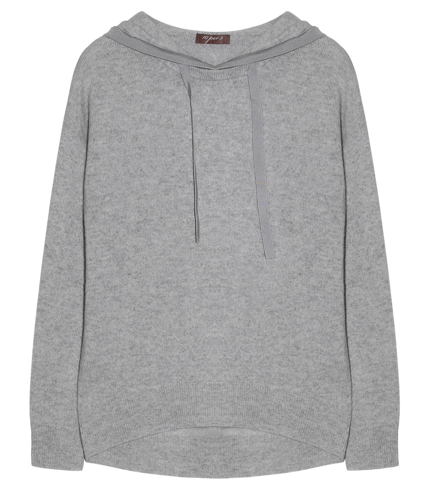 professioneller Verkauf attraktiver Stil beste Auswahl an 10per3 Grey Cashmere Hoodie