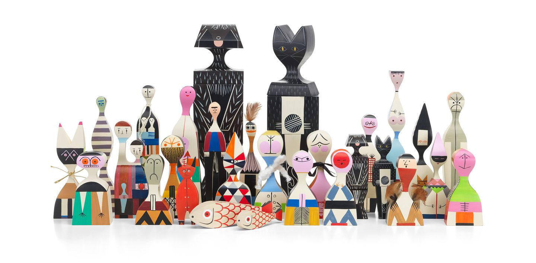 Vitra No. 4 Wooden Doll Home Decor