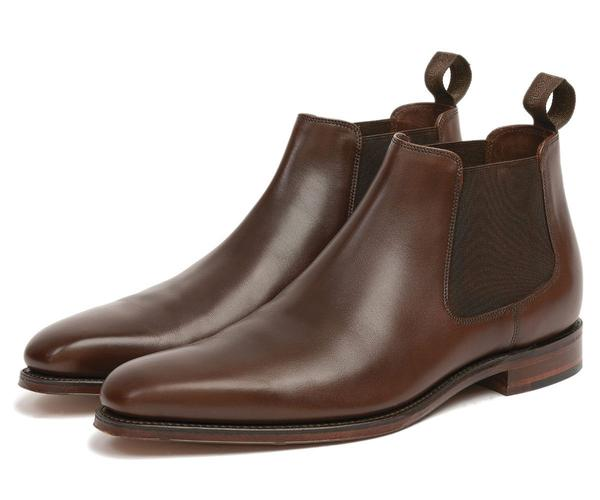 Loake Shoemakers Nene Dark Brown Chelsea Boot