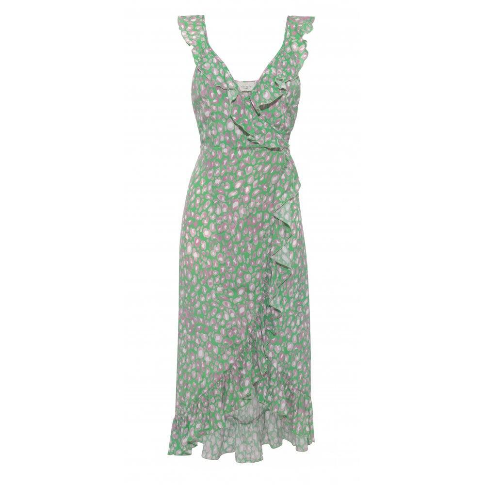 Primrose Park Daphne Dress in Leo in Green