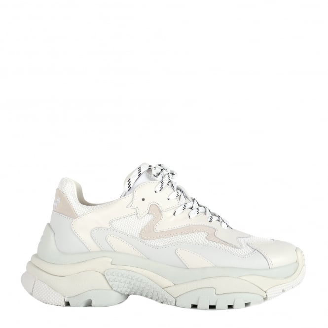 Ash White Addict Trainers