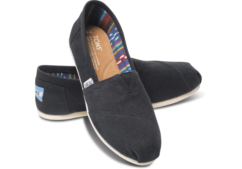 Trouva: Black Canvas Classic Womens Shoe