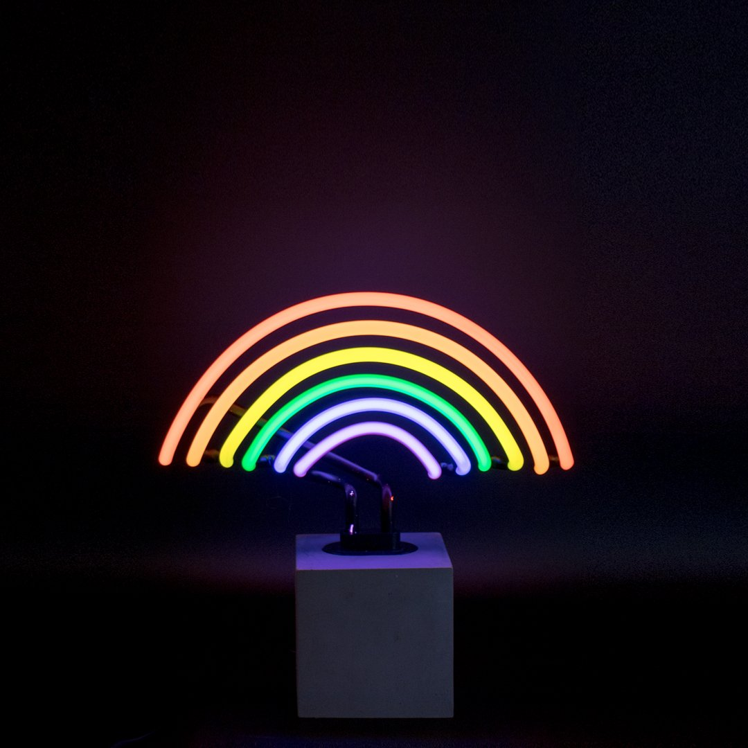 Locomocean Neon Rainbow Sign
