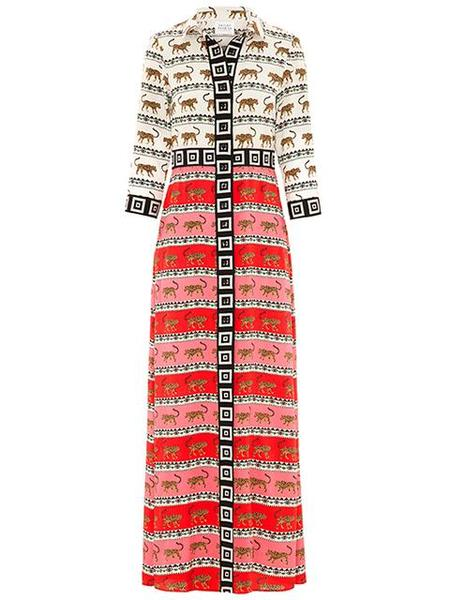 Hayley Menzies Leopardess Shirt Dress