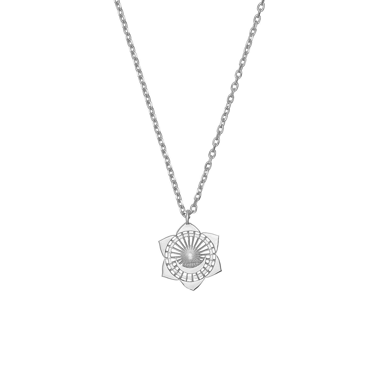Zoes Kitchen Logo: Trouva: Second Chakra Silver Necklace
