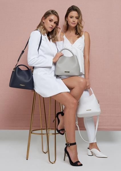 Katie Loxton Grey Sienna Slouch Bag